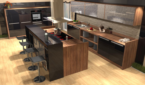 20 20 kitchen bath design luxwood corporation Kitchen design rendering software