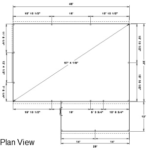 Post frame building plans find house plans for Post frame building plans